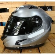 Capacete X-Lite X-802RR Ultra Carbon Start Scratched Chrome - C/ VÍDEO - Semana do Motociclista