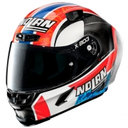 Capacete Nolan X-803 RS Ultra Carbon Alex Rins Piloto - (Grupo Nolan) - Ganhe Touca Balaclava
