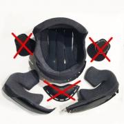 Forração para capacete Shoei Neotec 1 Original - Escolha o tamanho