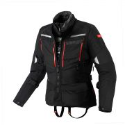Jaqueta Spidi 4 Season Black H2Out e Respirável - Big Trail Parka - BlackOferta