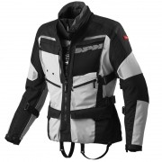 Jaqueta Spidi 4 Season Black/Grey H2Out e Ventilada - Big Trail Parka - BlackOferta