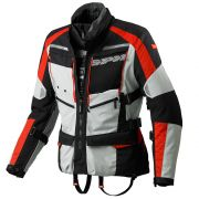 Jaqueta Spidi 4 Season Black/Red H2Out e Respirável - Big Trail Parka