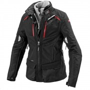 Jaqueta Spidi 4 Season Lady/Feminina Black H2Out e Respirável - Big Trail Parka