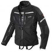 Jaqueta Spidi Armakore H2Out e Ventilada Black - Big Trail Parka