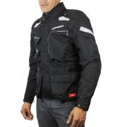 Jaqueta Spidi Voyager 3 H2Out Dark (Big Trail Parka) - Semana do Motociclista - BlackOferta