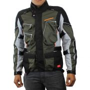 Jaqueta Spidi Voyager 3 H2Out Dark/Green/Black (Big Trail Parka) - Semana do Motociclista