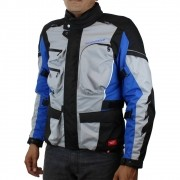 Jaqueta Spidi Voyager 3 H2Out Drak/Grey/Blue (Big Trail Parka)