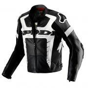 Jaqueta Spidi Warrior Pro em Couro Esportiva - (Só 52 e 56) - Semana do Motociclista