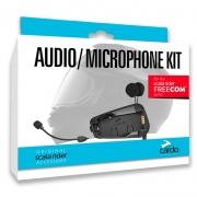 Kit Audio e Microphone Kit Cardo p/ Freecom 1,2,4