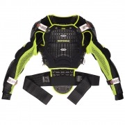 Protetor de Coluna Spidi Warrior Jacket (Black/Yellow)