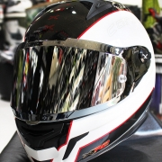 Viseira Nexx XR2 Espelhadas Prata