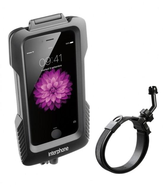 Suporte para Celular iPhone 6 6 S Interphone (Scooter Guidão não tubular) -  Toleman Parts e Acessories bf5f2482a50b5
