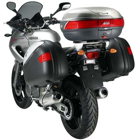 Baú Givi E52 Maxia Traseiro - Pronta Entrega  - Nova Suzuki Motos e Acessórios