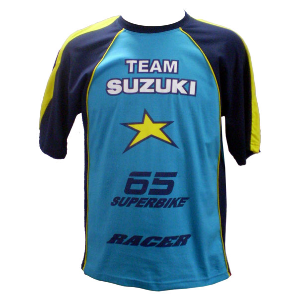 Camiseta Joc Suzuki Rizla  - Nova Suzuki Motos e Acessórios