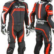 Macacão Tutto Moto Racing 2 pçs Vermelho - Pronta Entrega