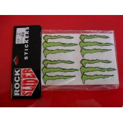 Adesivo Decorativo Monster Energy Rock Slider - Médio -  - Pronta Entrega