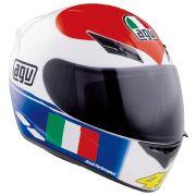 Capacete AGV K-3 Heart Réplica Oficial Valentino Rossi