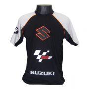 Camiseta Joc Moto GP - Preta - Suzuki