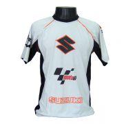 Camiseta Joc Moto GP - Cinza - Suzuki