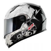 Capacete LS2 FF358 Black and White (+ Vendido)