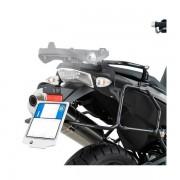 Suporte Lateral GIVI PL690 p/ BMW F650 / F800 GS 08-17 (E21 e E22/E41/E360/TREKKER) - Pronta Entrega