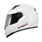 Capacete LS2 FF358 MonoColor Branco