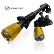 Slider Dianteiro Procton com Amortecimento p/ ER6N 10/12 e Versys 650 - Aluminium Support