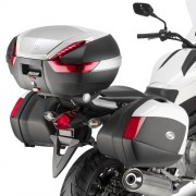 Suporte lateral Givi PLX1111 p/ Honda NC700X 12/13 ou NC750 S e S DCT 14/15 p/ Baú V35 - Pronta Entrega