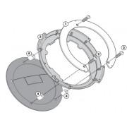 Flange (bocal) específica p/ fixação de bolsas Tanklock Givi DL650 (BF01 12 à 17 / Até 2012 BF10) e Gladius 650