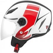 Capacete AGV Blade FX Branco/Vermelho