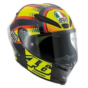 Capacete AGV Pista GP Rossi Soleluna - Super Oferta!