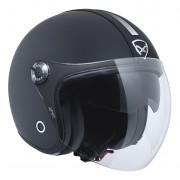 Capacete Nexx X70 Groovy Preto fosco Tri-Composto - Aberto
