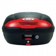 Baú Givi E450 Lente Vermelha - traseiro - 45 litros - Cabe até 2 capacetes
