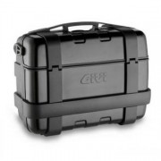 Baú Givi TREKKER ALUMINUM Black 33 LITROS (lateral ou traseiro) - Pronta Entrega