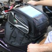Bolsa Tutto Moto Magnética p/ tanque TB02 - 17LT Expansível (Bolsa Traseira) - Super Queima - Givi