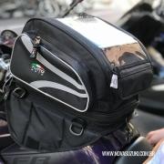 Bolsa Tutto Moto Magnética p/ tanque TB03 - 18LT Expansível (Mochila / Bolsa Traseira) - Super Queima - Givi