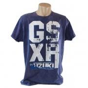 Camiseta Masculina Suzuki GSXR Azul