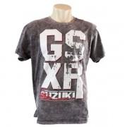 Camiseta Masculina Suzuki GSXR Cinza