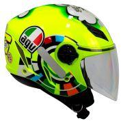 Capacete AGV Blade Misano Valentino Rossi NOVO! - Aberto