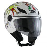 Capacete AGV Blade White Zoo Valentino Rossi  - Feminino - Só 60/L