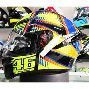 Capacete AGV K-1 Soleluna Valentino Rossi (Nolan N87)
