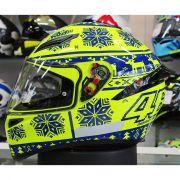 Capacete AGV K-1 Winter Test 15 Valentino Rossi (Nolan N87)