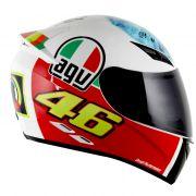 Capacete AGV K-3 Valentino´s Eye Réplica Oficial Valentino Rossi