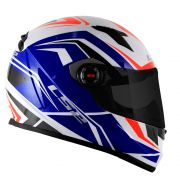 Capacete LS2 Classic FF358 Blade - White/Blue/Red