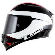 CAPACETE LS2 FF323 ARROW R COMET - Black/White
