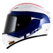 CAPACETE LS2 FF323 ARROW R COMET - Blue/White