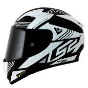 Capacete LS2 FF323 Arrow R Neon Black/White