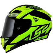 Capacete LS2 FF323 Arrow R Neon Black/Yellow