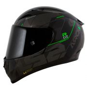 Capacete LS2 FF323 Arrow R techno Black/Grey/Green