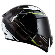 Capacete LS2 FF323 Arrow R techno Black/Grey/Flo
